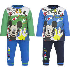 Mickey Mouse Baby boy Tracksuit 2 piece new 6-23 months