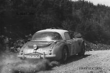 Austin Healey 3000 & Timo Makinen – 1965 Scottish Rally – photograph photo