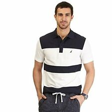 K51105 Nautica Mens Color Block Performance Deck Polo Shirt- Choose SZ/Color.