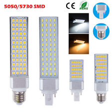 Bright E27 G24 5W/7W/9W/10W/12W/13W 5050 5730 SMD LED Spot Light Lamp Corn Bulbs