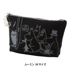 Moomin Little My Pen Pencil Bag Cosmetic Pouch Purse Organizer from Japan E1139