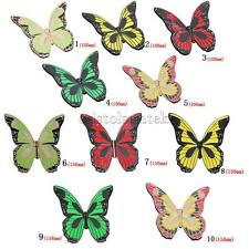 2Pcs Butterfly Closet Drawer Cabinet Door Handle Knob Pull Hardware 5 Color Pick