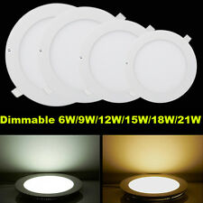Energy Saving LED Panel Light Dimmable 9W 12W 15W 18W 21W Ceiling Downlight Lamp