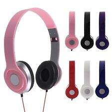 3.5MM Foldable Stereo Earphones Headset Headphones for PC Cellphone MP3 MP4