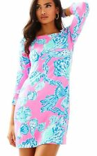 New Lilly Pulitzer UPF 50+ SOPHIE DRESS PINK POUT BAREFOOT PRINCESS XXS S M L XL