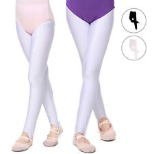 Girl Kid Tights Opaque Pantyhose Leotard Hosiery Ballet Dance Socks Candy Colors