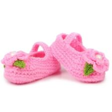 Slipper Handmade Crochet Baby Prewalker Girl Newborn Socks Crib Shoes Knit