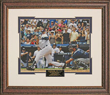 Derek Jeter New Yankees 3000th Hit Commemorative Photo Matted and Framed