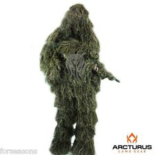 Ghillie Suit Adult Young Full 3D Camo Hunting Lightweight 3 Piece Jacket Pants