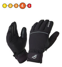 Sealskinz Ladies Winter Thermal Waterproof Cycle Competition Riding Glove Black