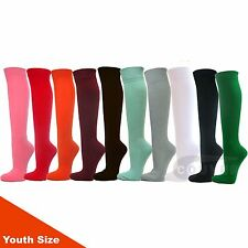 COUVER Youth Sports/Softball/Baseball Knee High Socks 12 Mixed in Color