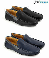 Mens Boat Slip On Deck Casual Shoes Smart Leather Loafers Designer Dress Formal