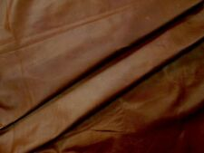 Tan cowhide for leathercraft Small pieces. Barkers Hide & Leather Skins N273