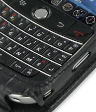 PDair Black Croco Leather Sleeve-Style Case for BlackBerry Bold 9000