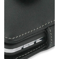 PDair Black Leather Book-Style Case for HTC P3450 / Sprint Touch