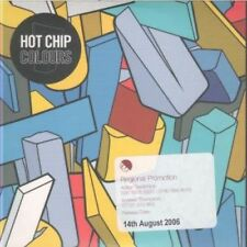 HOT CHIP Colours CD European Emi 2005 4 Track Promo With Info Stickered Card