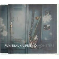FUNERAL FOR A FRIEND Monsters CD European Atlantic 2005 2 Track B/W Sunday