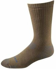 Bates Tactical Uniform Mid Calf Coyote Brown 1 Pk Socks Made in USA