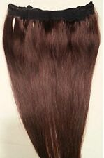 "18"" 20"" 100% Human Hair Extensions,100 Grams, Halo Style (ONE PIECE ) # 2"