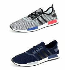 Mens Running Trainers Lace Up Casual Shoes Designer Fashion Gym Sneakers UK Size