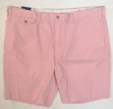 Polo Ralph Lauren Straight Fit Pink Bedford Chino Cotton Twill Shorts Mens NWT