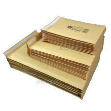 GENUINE JIFFY AIRKAFT GOLD PADDED BUBBLE ENVELOPES BAGS All Sizes CD DVD