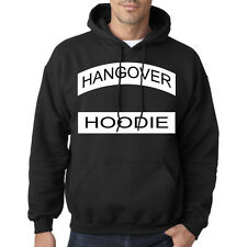 Mens Boys HANGOVER Hoodie Hooded Sweatshirt Slogan Printed Top Long Sleeve S-XXL