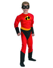 Child's Boys Disney The Incredibles Child Dash Muscle Chest Costume