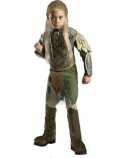 Child's Boys Deluxe Lord Of The Rings Hobbit Desolation Of Smaug Legolas Costume