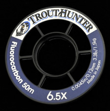 TroutHunter Fluorocarbon Tippet 50 Meter Spool FREE SHIPPING! Streams of Dreams