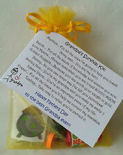 GRANDAD / GRANDPA Fathers Day /Birthday Survival Kit, GIFT FROM CHILD, keepsake.