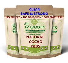Organic Cacao / Cocoa Nibs RAW / CRIOLLO / Peruvian Superfood Choose Size