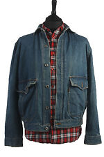 Levis Engineered Jeans Vintage Denim Workwear Jacket Mid Blue Chest 45'' DJ1203