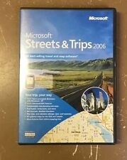 Brand NEW sealed Microsoft Streets and Trips 2006 for Windows XP,2000,ME,98
