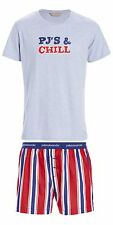 PETER ALEXANDER PJS Mens CLASSIC STRIPE SET Boxer Shorts & Top M/L/XL/XXL NWT PJ