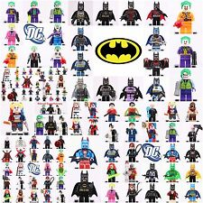Dc comics Batman Marvel Joker Harley Quinn Superhero Set  Mini figure fit Lego
