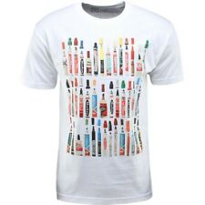 $32 The Seventh Letter Vintage Markers Tee white