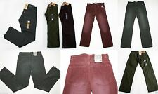 NWT Boys Levis Jeans 505 Old Navy OshKosh Corduroy Pants NEW straight 4 7 10 16
