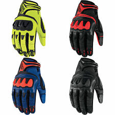 Icon Mens Anthem Deployed Mesh Motorcycle Riding Gloves - Choose Size & Color