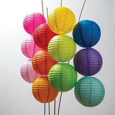 "5/10 pieces OF 4"" 6"" 8"" 10"" 12"" 14'' Chinese Paper Lantern Wedding Party Decor"