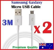 3M Samsung Galaxy Micro USB Sync Charging Data Cable for S7 S6 S5 Note HTC Nokia