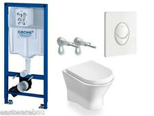 Concealed cistern Grohe/Roca NEXO Complete set WC wall+Bidet without Flush rim