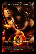 THE HUNGER GAMES HIGH RESOLUTION MOVIE POSTER **FREE SHIPPING**