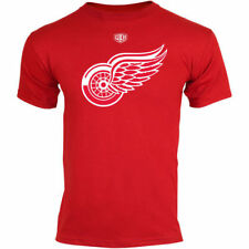 Old Time Hockey Detroit Red Wings Youth Red Big Logo Crest T-Shirt - NHL