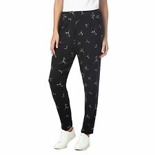 The Collection Womens Black Hummingbird Jogging Bottoms From Debenhams