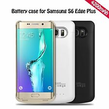 4200mAh External Backup Battery Power Bank Case for Samsung Galaxy Note 5 S6 +