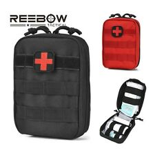 REEBOW TACTICAL First Aid Bag Only Molle Medical EMT Pouch Outdoor Emergency