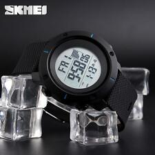 Casual Mens Rubber LED Waterproof Watch Date Military Quartz Sport Wristwatches