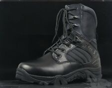 Men SWAT BLACK Tactical Combat Boots CQB Airsoft Security Special Forces Cops