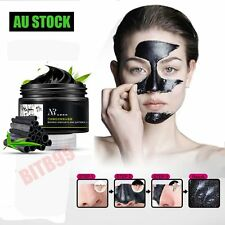 AU Face Mask Nose Blackhead Acne Pore Deep Remover Cleansing Strip Black Mud BU